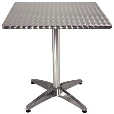 Ideal for pubs the Bolero Square Bistro Table is rugged and easy care