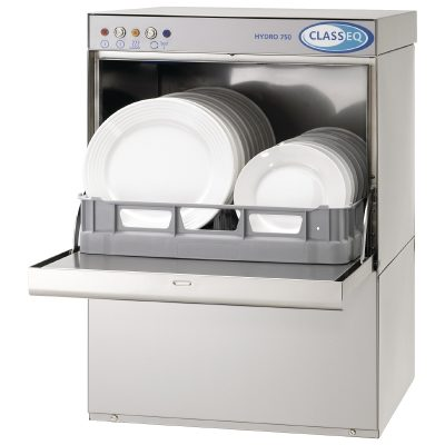 Classeq HYDRO Dishwasher 13amp has a 500mm basket for plates