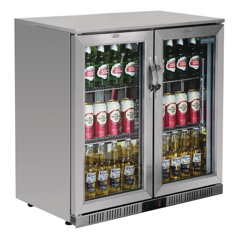 stylish beer bottle cooler for cafes and restaurants or bistros
