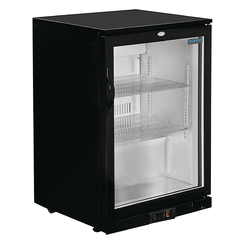 Polar Single Door Back Bar Cooler for pubs and bars