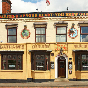 Bathams Brewery in Midlands