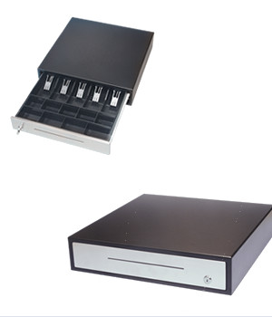 Glancetron 8045 Manual Cash Drawer works without a till or printer to fire it