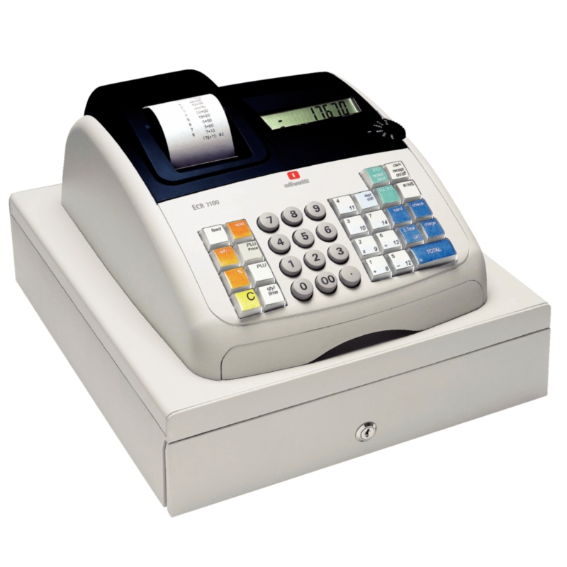 budget basic Olivetti Cash Register ECR 7100