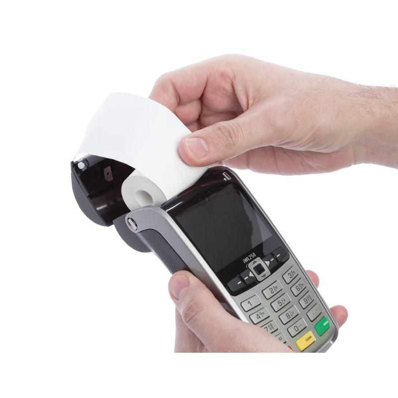 credit card terminal paper rolls High grade thermal till rolls for credit card machines uk manufactured top coated thermal card machine paper rolls manufactured mobile credit card terminal.