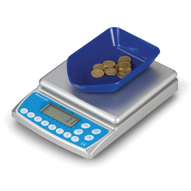 make light work of counting floats with a Salter Coin Counter