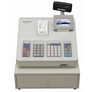 Sharp Cash Register XE-A207W offers a reliable till solution